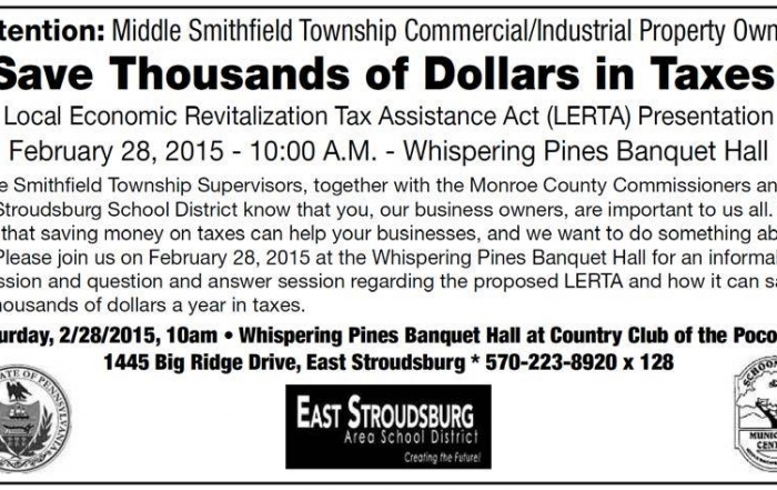Attention: MST Commercial/Industrial Property Owners
