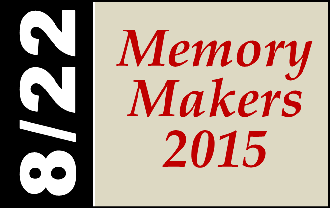 RSVP for Memory Makers on Saturday, August 22