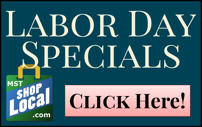 MST Shop Local- Labor Day Specials