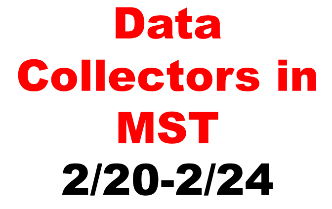 County Wide Reassessment Data Collectors in MST